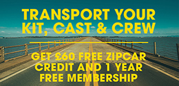 GET MOVING WITH ZIPCAR
