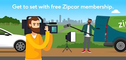 FREE DRIVING CREDIT FROM ZIPCAR